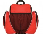 soccer backpack red