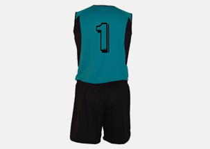 Soccer Uniform Back