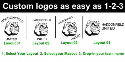 mascot layouts